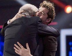 David Bisbal se emociona y rompe a llorar en la final de 'La Voz Senior'