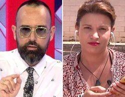 """Risto Mejide y Beatriz Talegón, enfrentados: """"Mientras esté en este programa, no se defenderá a un terrorista"""""""