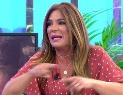 Raquel Bollo estalla en 'Sálvame' tras lo que se dijo del presunto embarazo de su hija