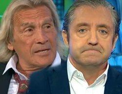 """Pedrerol detiene a Loco Gatti en una violenta bronca en 'El Chiringuito de Jugones': """"No le quise pegar"""""""
