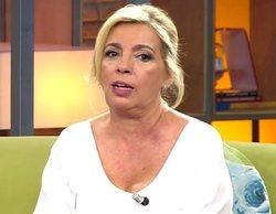 """Carmen Borrego responde a las críticas tras la boda de Belén Esteban: """"Mi marido no me dijo a quién saludar"""""""