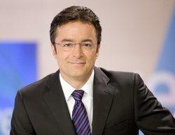 Marcos López vuelve al Telediario de TVE para presentar los deportes del fin de semana