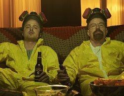 Los protagonistas de 'Breaking Bad' podrían estar anticipando el inminente estreno de la película