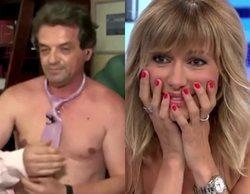 Susanna Griso, apurada en 'Espejo Público' con un invitado que intenta desnudarse en directo