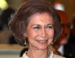 """La Reina Sofía felicita personalmente a 'Cuatro al día' por su campaña ecológica """"Comando Cazaplástico"""""""
