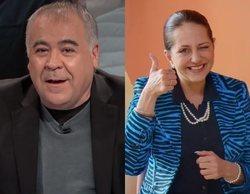 Ferreras hace un guiño a Paquita Salas para explicar la polémica en Twitter entre VOX y Ciudadanos