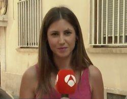 Una reportera de 'Espejo Público' es atacada por una plaga de pulgas en pleno directo