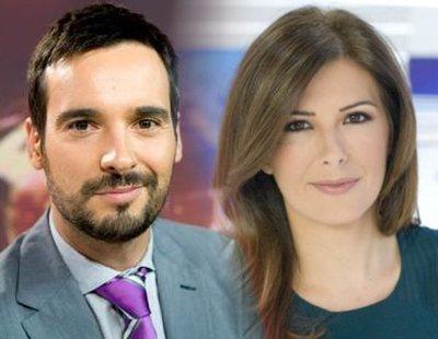 Lluís Guilera y Lara Siscar, nuevos presentadores del 'Telediario fin de semana'