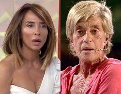 """María Patiño y sus pullitas a Chelo García-Cortés en directo: """"Yo no soy Pantoja, no estoy por encima de ella"""""""