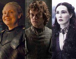 Alfie Allen, Gwendoline Christie y Carice van Houten se presentaron a los Emmy por su cuenta