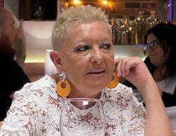 Nati se marcha de 'First Dates' enfadada con su cita y lo paga Carlos Sobera: