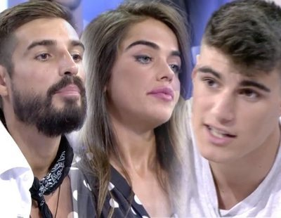 """El tenso reencuentro entre Violeta y Fabio con Julen en 'MYHYV': """"Me tocó el culo"""""""