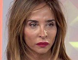 María Patiño recibe una noticia de última hora que la deja de piedra en pleno directo de 'Socialité'