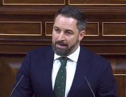 Críticas a laSexta por emitir publicidad durante el discurso de Abascal en la sesión de investidura