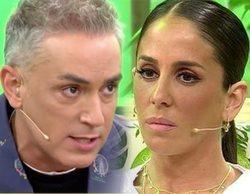 Anabel Pantoja abandona 'Sálvame' tras los piques de Kiko Hernández hacia su familia