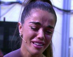 'MyHyV': Violeta rompe a llorar por los reproches de Julen sobre la polémica entrevista hablando de su padre