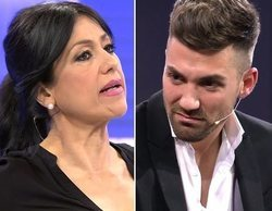 Alejandro Albalá y Maite Galdeano se enzarzan por los pasillos de Telecinco y cruzan amenazas de demanda