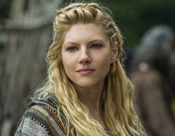 Katheryn Winnick ('Vikings') conquista Times Square con la promoción de su nueva serie, 'Wu Assassins'