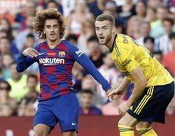 """El Barça-Arsenal, lo más visto del día (15,5%) en laSexta y """"Malas madres"""" se queda en un 12,4% en Antena 3"""