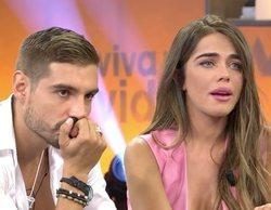 Fabio Colloricchio cree que Violeta Mangriñán va a dejarlo en directo en 'Viva la vida' y ella rompe a llorar