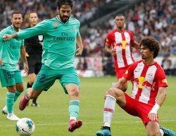 El amistoso Salzburgo - Real Madrid se impone en la tarde y, además, lidera la jornada con un 9,1%