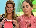 Anabel Pantoja se realiza en 'Sálvame' un test de embarazo en directo