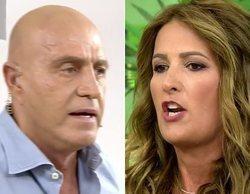 "Kiko Matamoros y Laura Fa protagonizan un brutal enfrentamiento en 'Sálvame': ""¡Hija de puta!"""