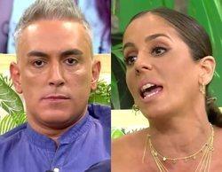 Anabel Pantoja estalla contra Kiko Hernández tras corregir sus patadas al diccionario en 'Sálvame'