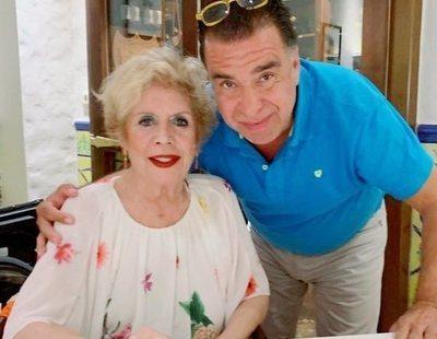 María Jiménez reaparece con muy buen aspecto tras su ingreso hospitalario