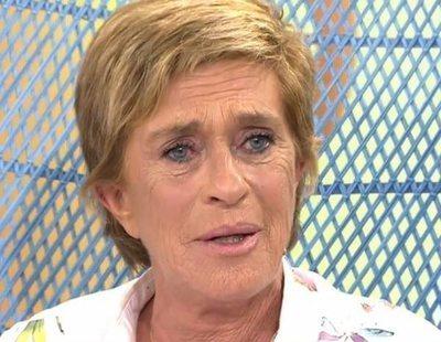 Chelo García-Cortés deberá ser operada tras la caída que sufrió en el plató de 'Sálvame'