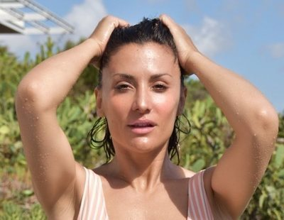 Nagore Robles y su reivindicativo desnudo integral en Bali