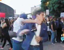 Brutal agresión a un reportero mexicano mientras cubría una manifestación por la que termina inconsciente