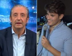 """El desliz de un redactor de 'El Chiringuito' con Josep Pedrerol: """"Sorprendentemente la gente nos ve"""""""