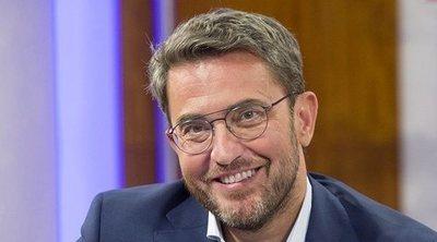 Máximo Huerta, renovado en TVE, continuará presentando 'A partir de hoy' tras el verano
