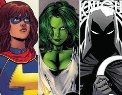 Marvel anuncia las series 'Ms. Marvel', 'Moon Knight' y 'She-Hulk' para Disney+