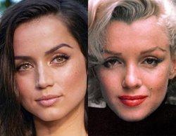 Ana de Armas se transforma en Marilyn Monroe en estas imágenes del rodaje de 'Blonde'