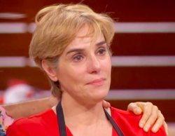 """Anabel Alonso, al verse en 'MasterChef Celebrity': """"He llorado más ahí que en el entierro de mi padre"""""""