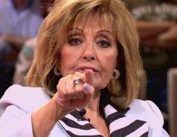 """María Teresa Campos pierde los nervios con la prensa: """"¡Iros ya!"""""""