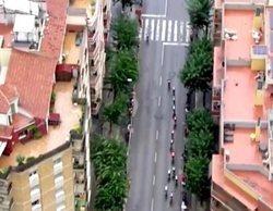 Un helicóptero de la Vuelta a España descubre una plantación de marihuana en una terraza