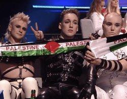 La UER sancionará a Islandia por las banderas de Palestina que Hatari mostró en Eurovisión