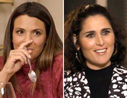 Rosa López se lanza en 'Ven a cenar conmigo' y besa a Laura Matamoros en la boca: