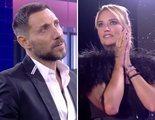 """El tenso encuentro entre Antonio David y Alba Carrillo en 'GH VIP 7': """"Igual yo soy más educado que tú"""""""