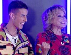 """El divertido debut de El Cejas y Mila Ximénez en 'GH VIP 7': """"No voy a practicar sexo en la casa"""""""