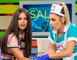 El Sindicato de Enfermería critica el disfraz de Valeria Ros en 'Zapeando' por fomentar estereotipos sexistas