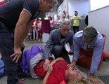 Lydia Lozano termina en el hospital tras sufrir un aparatoso accidente en 'Sálvame'