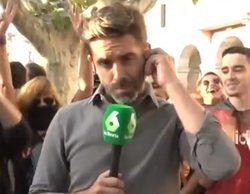 """José Yélamo ('Más vale tarde') niega haber alentado a independentistas a gritar en un directo: """"Fue irónico"""""""