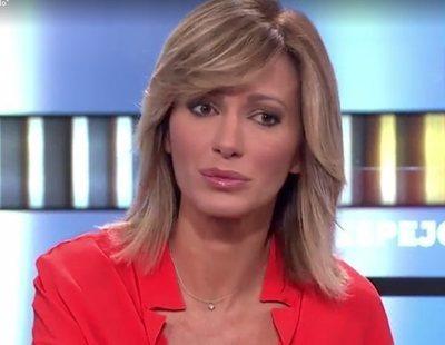 """Susanna Griso califica a las redes de """"universo de borrachuzos"""" por criticar a Fran Rivera"""