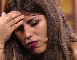 Isa P. rompe a llorar por la ausencia de Isabel Pantoja en la presentación de su canción