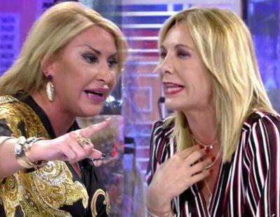 Raquel Mosquera y Belén Rodríguez protagonizan un duro enfrentamiento en 'Deluxe'