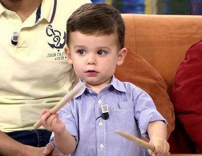 Así aprendió Hugo, el niño revelación de 'Got Talent', a tocar el tambor